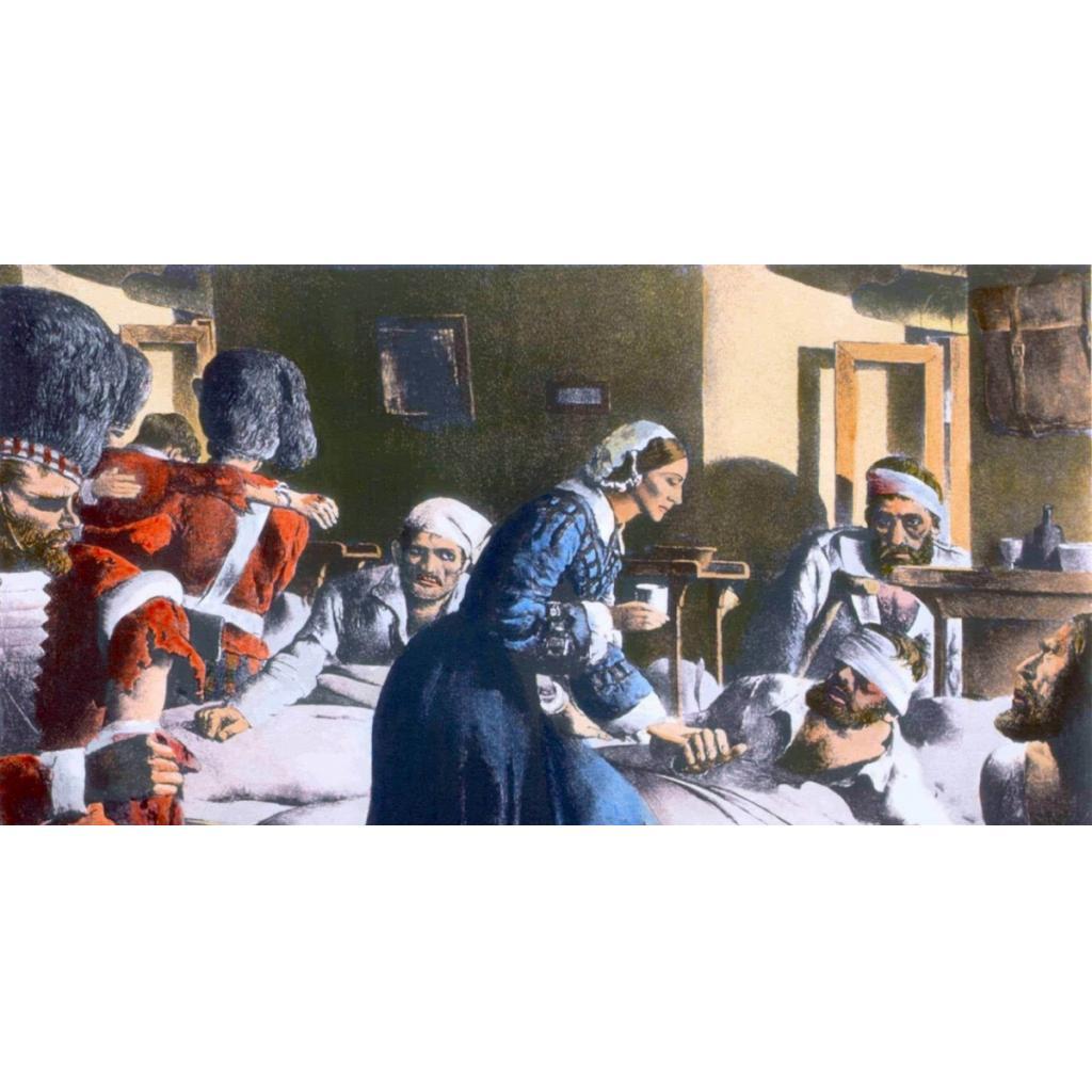YARINLARA IŞIK TUTMUŞ BİR DEĞER: Florence Nightingale