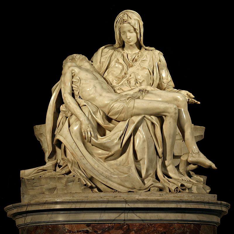 Şekil 3. Pieta Heykeli Aziz Petrus Bazilikası, Vatikan