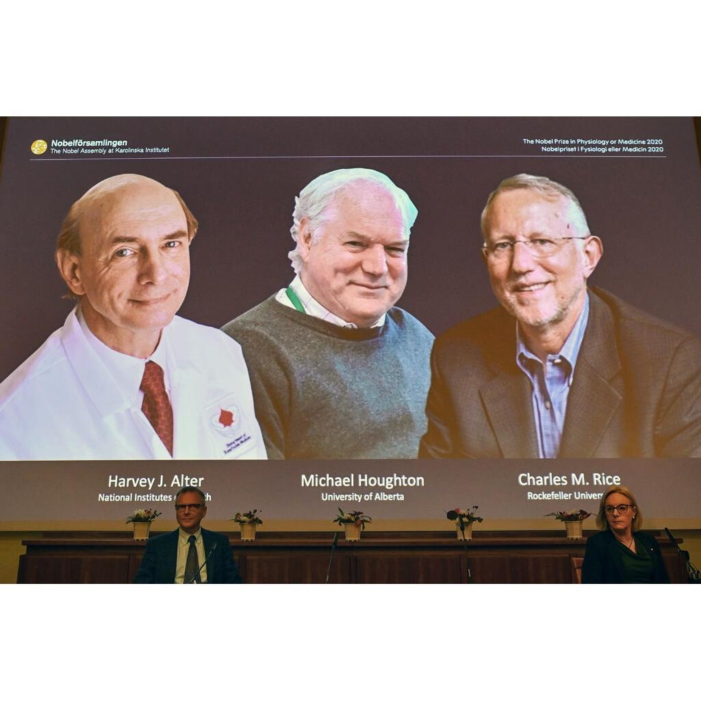 2020 Nobel Fizyoloji ve Tıp Ödülü